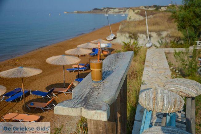 Frappe (ijskoffie) in Griekenland